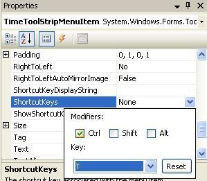 shortcut key