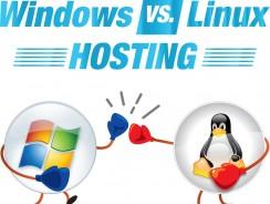 Windows hosting và Linux hosting
